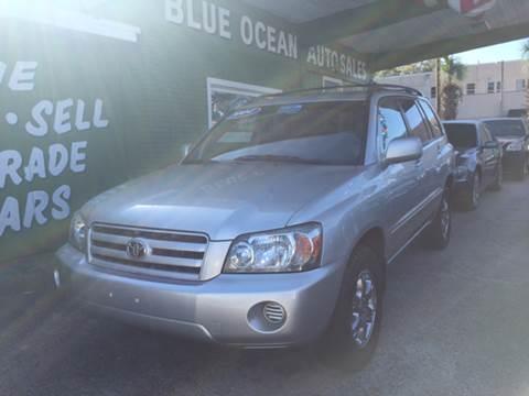 2004 Toyota Highlander for sale at Blue Ocean Auto Sales LLC in Tampa FL