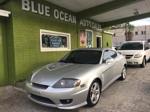 2006 Hyundai Tiburon for sale at Blue Ocean Auto Sales LLC in Tampa FL