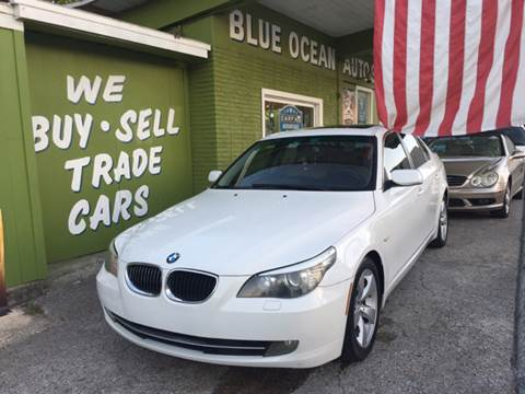 2008 BMW 5 Series for sale at Blue Ocean Auto Sales LLC in Tampa FL