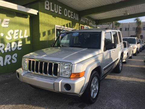 2007 Jeep Commander for sale at Blue Ocean Auto Sales LLC in Tampa FL