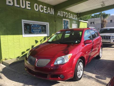 2005 Pontiac Vibe for sale at Blue Ocean Auto Sales LLC in Tampa FL