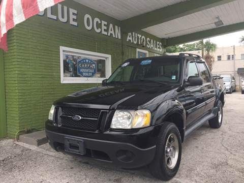 2005 Ford Explorer Sport Trac for sale at Blue Ocean Auto Sales LLC in Tampa FL