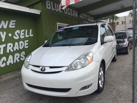 2006 Toyota Sienna for sale at Blue Ocean Auto Sales LLC in Tampa FL