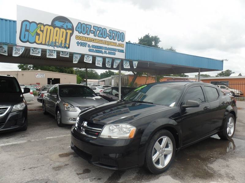2013 Dodge Avenger for sale at Go Smart Car Sales LLC in Winter Garden FL