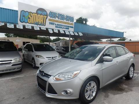 2012 Ford Focus for sale at Go Smart Car Sales LLC in Winter Garden FL