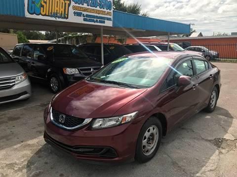 2013 Honda Civic for sale at Go Smart Car Sales LLC in Winter Garden FL