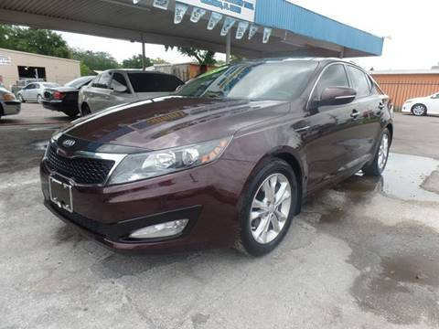 2013 Kia Optima for sale at Go Smart Car Sales LLC in Winter Garden FL
