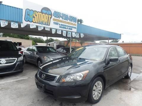 2009 Honda Accord for sale at Go Smart Car Sales LLC in Winter Garden FL