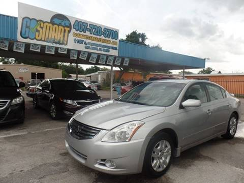 2012 Nissan Altima for sale at Go Smart Car Sales LLC in Winter Garden FL