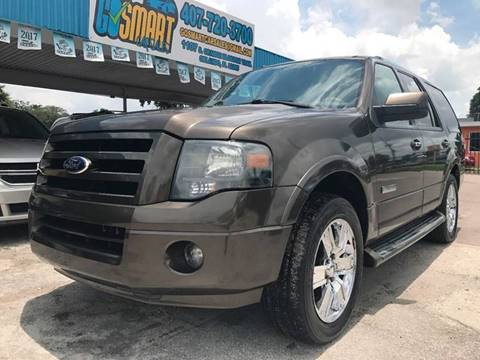 2008 Ford Expedition for sale at Go Smart Car Sales LLC in Winter Garden FL