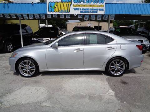 2006 Lexus IS 350 for sale at Go Smart Car Sales LLC in Winter Garden FL