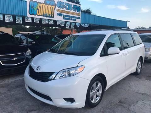 2011 Toyota Sienna for sale at Go Smart Car Sales LLC in Winter Garden FL