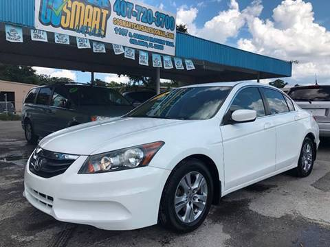 2011 Honda Accord for sale at Go Smart Car Sales LLC in Winter Garden FL