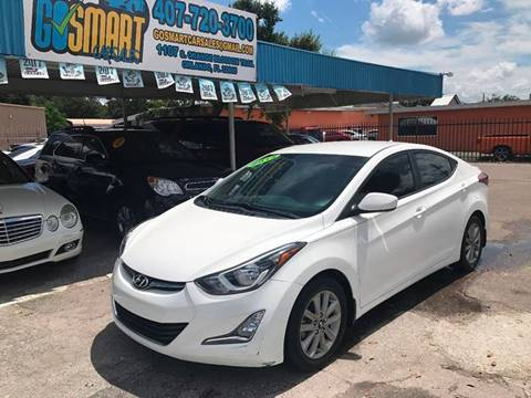 2014 Hyundai Elantra for sale at Go Smart Car Sales LLC in Winter Garden FL