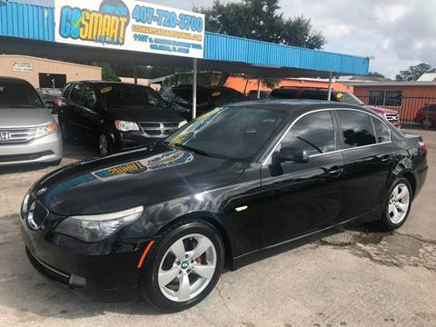 2008 BMW 5 Series for sale at Go Smart Car Sales LLC in Winter Garden FL