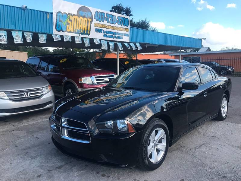 2013 Dodge Charger for sale at Go Smart Car Sales LLC in Winter Garden FL