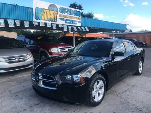 2013 Dodge Charger for sale at Go Smart Car Sales LLC in Winter Garden FL