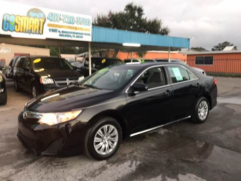 2013 Toyota Camry for sale at Go Smart Car Sales LLC in Winter Garden FL