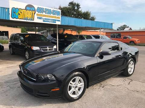 2013 Ford Mustang for sale at Go Smart Car Sales LLC in Winter Garden FL