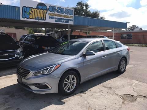 2015 Hyundai Sonata for sale at Go Smart Car Sales LLC in Winter Garden FL