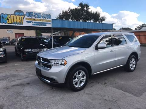 2011 Dodge Durango for sale at Go Smart Car Sales LLC in Winter Garden FL