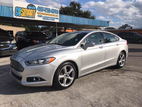 2015 Ford Fusion for sale at Go Smart Car Sales LLC in Winter Garden FL