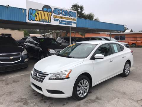 2014 Nissan Sentra for sale at Go Smart Car Sales LLC in Winter Garden FL