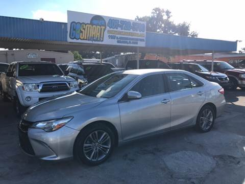 2015 Toyota Camry for sale at Go Smart Car Sales LLC in Winter Garden FL