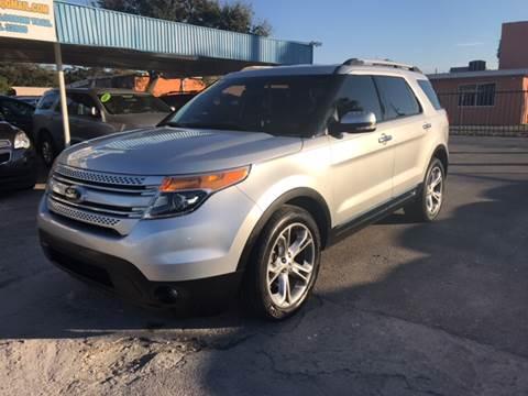 2012 Ford Explorer for sale at Go Smart Car Sales LLC in Winter Garden FL