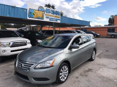 2013 Nissan Sentra for sale at Go Smart Car Sales LLC in Winter Garden FL