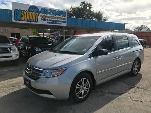 2012 Honda Odyssey for sale at Go Smart Car Sales LLC in Winter Garden FL