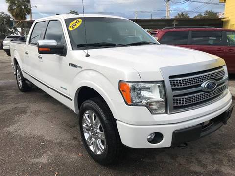 2012 Ford F-150 for sale at Go Smart Car Sales LLC in Winter Garden FL
