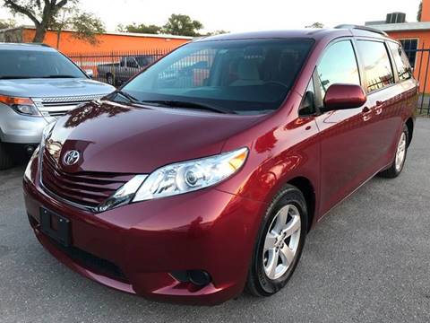 2015 Toyota Sienna for sale at Go Smart Car Sales LLC in Winter Garden FL