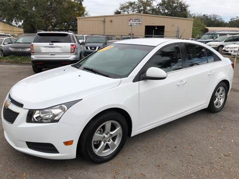2014 Chevrolet Cruze for sale at Go Smart Car Sales LLC in Winter Garden FL