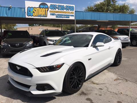 2015 Ford Mustang for sale at Go Smart Car Sales LLC in Winter Garden FL