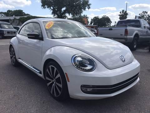 2012 Volkswagen Beetle for sale at Go Smart Car Sales LLC in Winter Garden FL