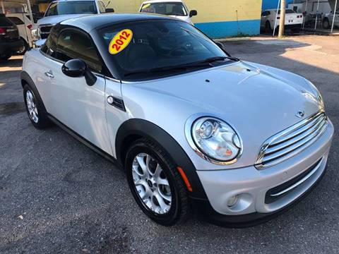 2012 MINI Cooper Coupe for sale at Go Smart Car Sales LLC in Winter Garden FL