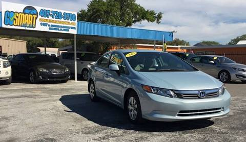 2012 Honda Civic for sale at Go Smart Car Sales LLC in Winter Garden FL