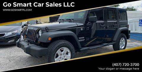 2013 Jeep Wrangler Unlimited for sale in Winter Garden, FL