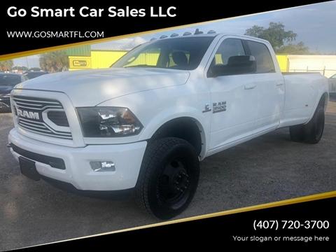 2018 RAM Ram Pickup 3500 for sale at Go Smart Car Sales LLC in Winter Garden FL