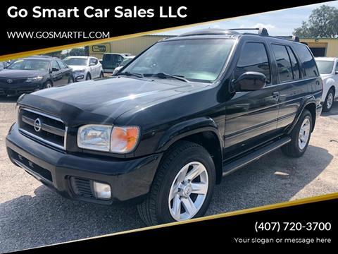 2002 Nissan Pathfinder for sale at Go Smart Car Sales LLC in Winter Garden FL