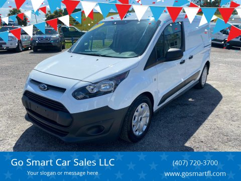 2017 Ford Transit Connect Cargo for sale at Go Smart Car Sales LLC in Winter Garden FL