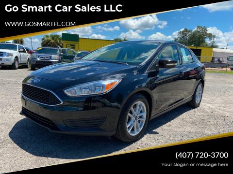 2017 Ford Focus for sale at Go Smart Car Sales LLC in Winter Garden FL