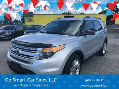 2013 Ford Explorer for sale at Go Smart Car Sales LLC in Winter Garden FL