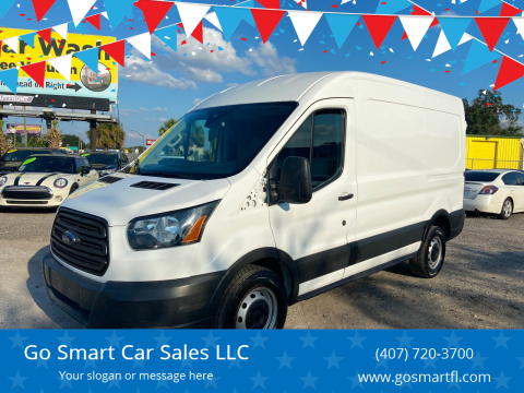 2017 Ford Transit Cargo for sale at Go Smart Car Sales LLC in Winter Garden FL