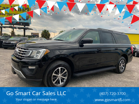 2019 Ford Expedition MAX for sale at Go Smart Car Sales LLC in Winter Garden FL