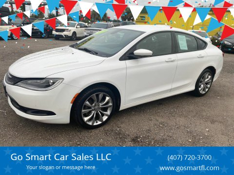 2015 Chrysler 200 for sale at Go Smart Car Sales LLC in Winter Garden FL