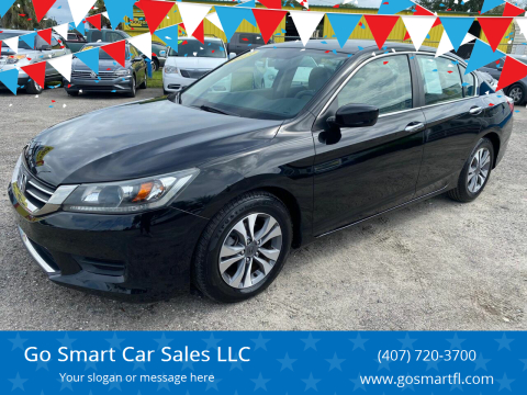 2013 Honda Accord for sale at Go Smart Car Sales LLC in Winter Garden FL