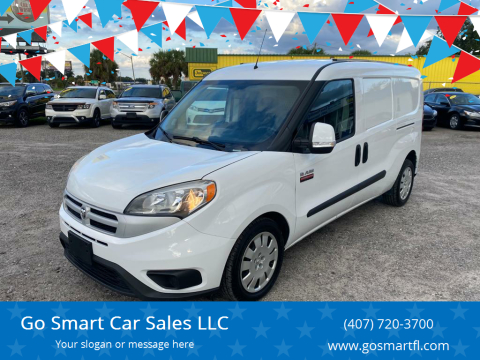 2016 RAM ProMaster City Cargo for sale at Go Smart Car Sales LLC in Winter Garden FL