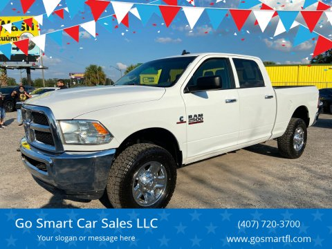 2017 RAM Ram Pickup 2500 for sale at Go Smart Car Sales LLC in Winter Garden FL